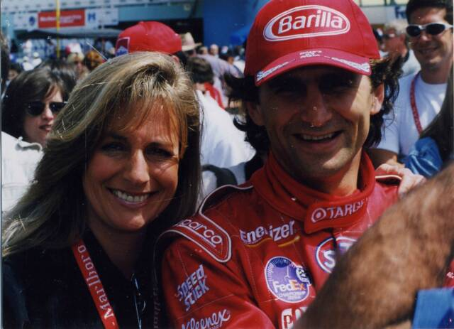 Alex Zanardi and Laura Byrd